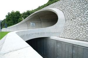 Pressefoto: Bressanone Ring Road. Architecture MoDus. Foto: Leonhard Angerer, Matteo Scagnol