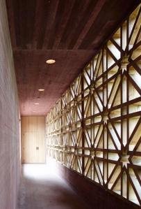 H170, Altrach, hallway © Adolf Bereuter