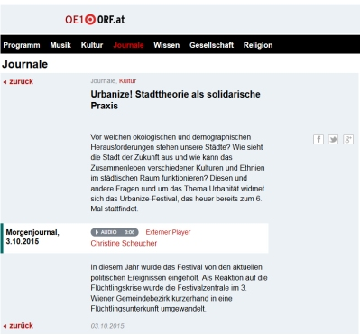 urbanize_pressespiegel_ö1journal