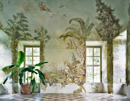 Gartenpavillon Stift Melk, Fresken von Johann Wenzel Bergl, Nr 3